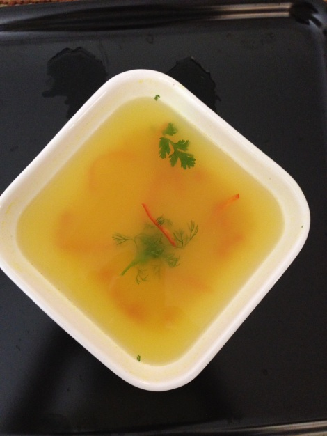 Lemon Rasam Broth