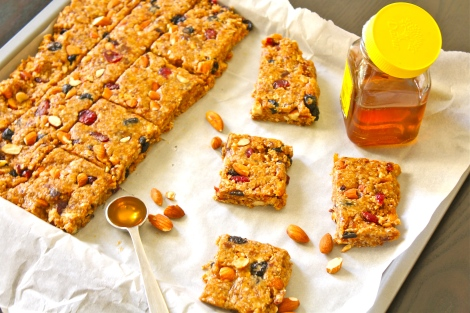 No bake Granola Bars