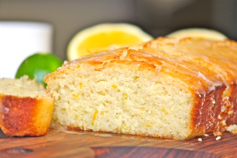 Orange & Lemon Drizzle Cake